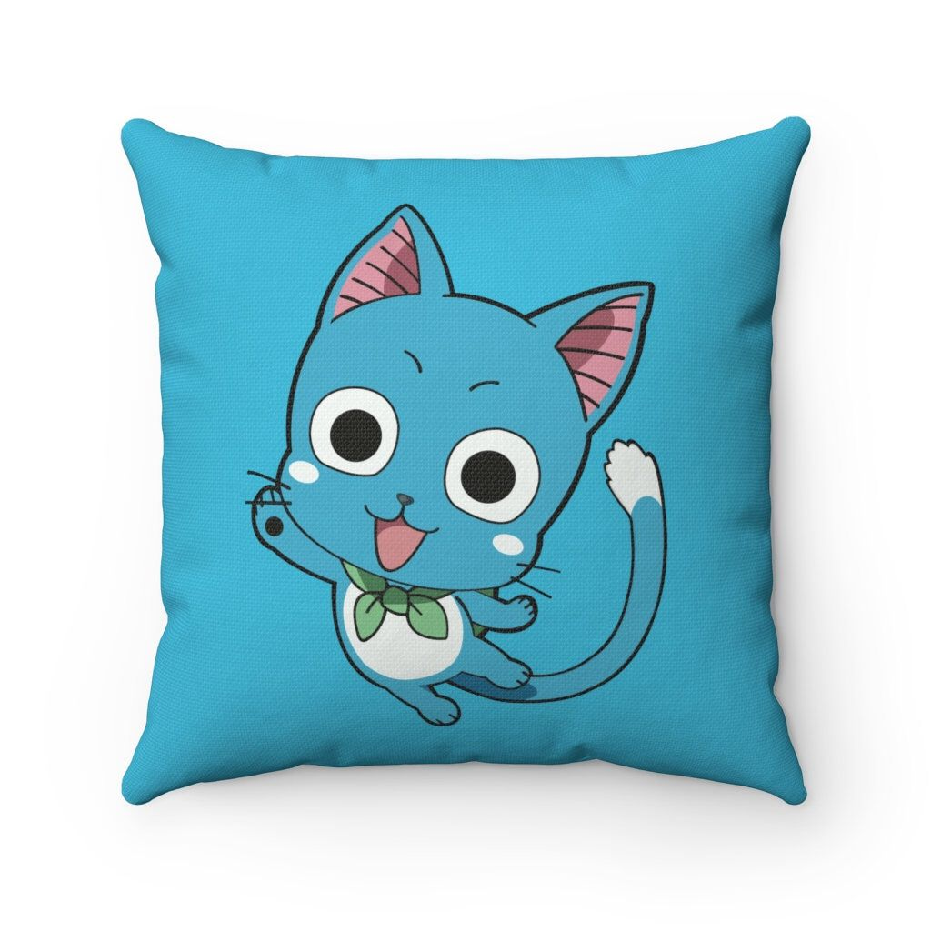 Fairy tail happy anime pillow custom pillows gaming