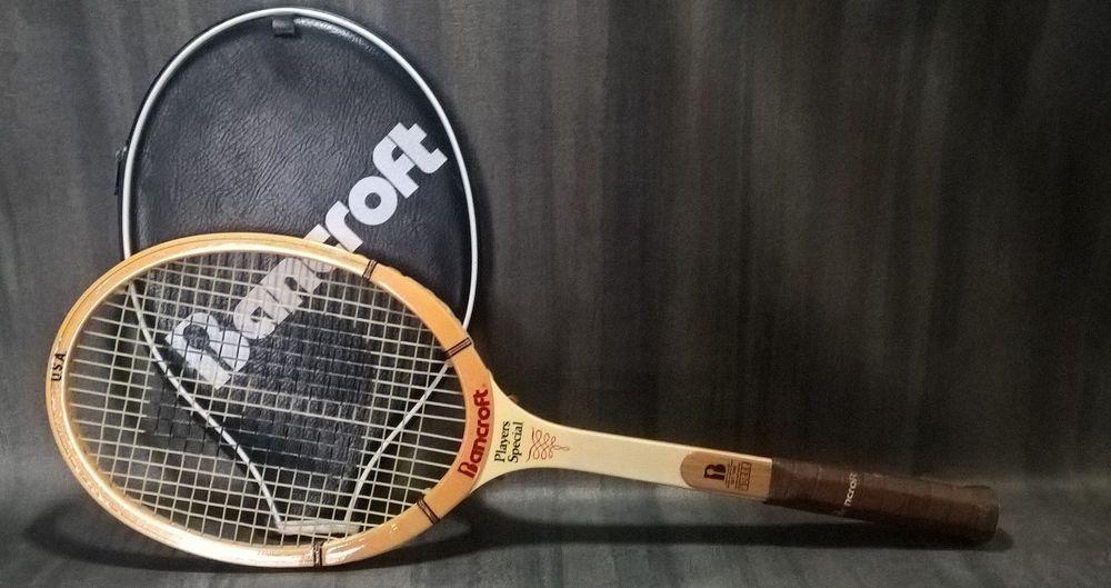 Bancroft tennis racquet players special 4 12 m bamboo ash