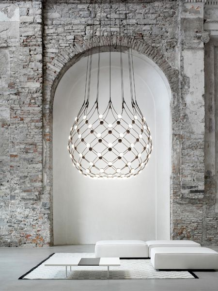 Mesh pendant by Francisco Gomez Paz. Mesh is perfect for both the home and…