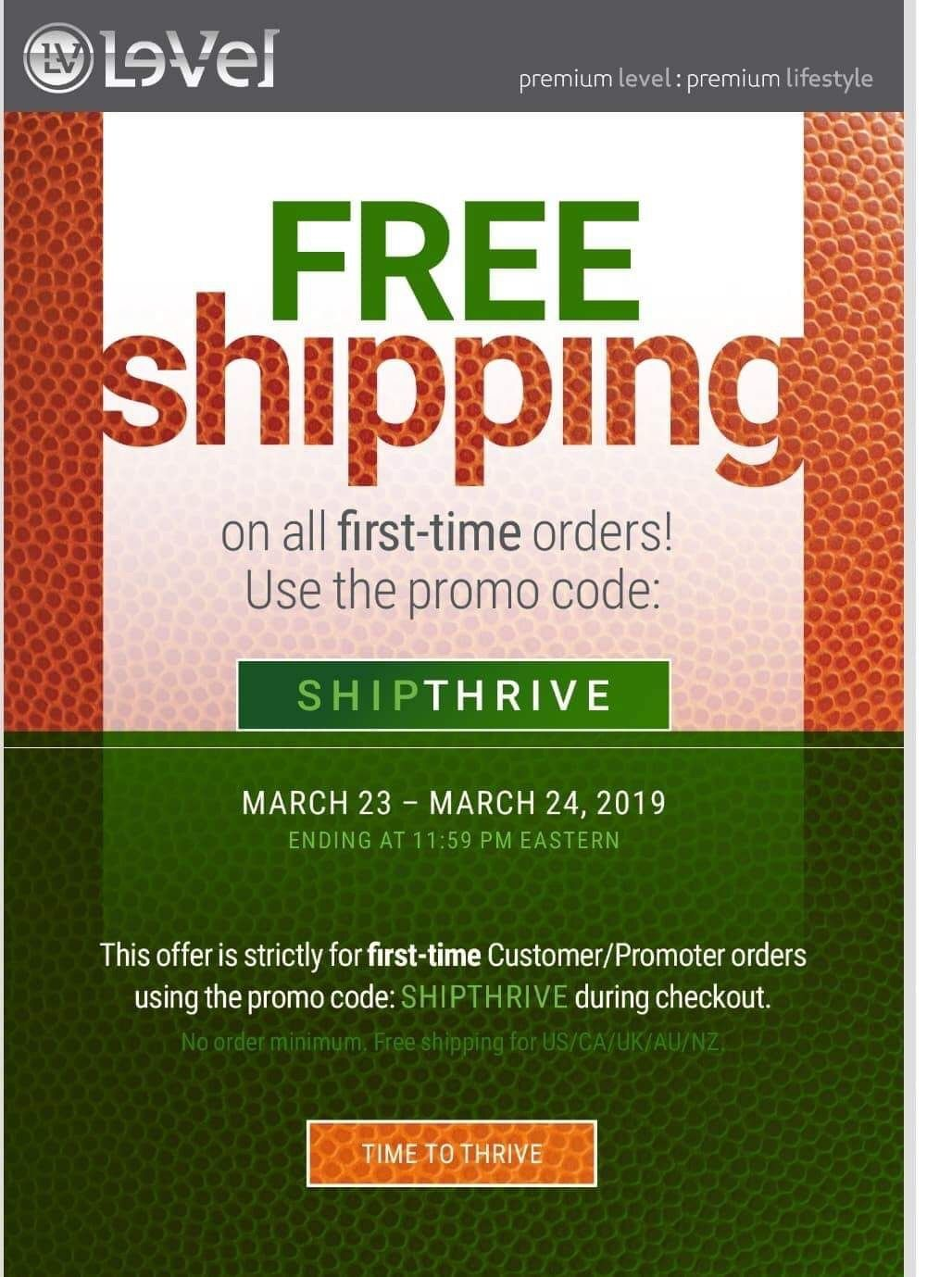 WooHoo!!! 1st time customers get FREE SHIPPING with the promo code