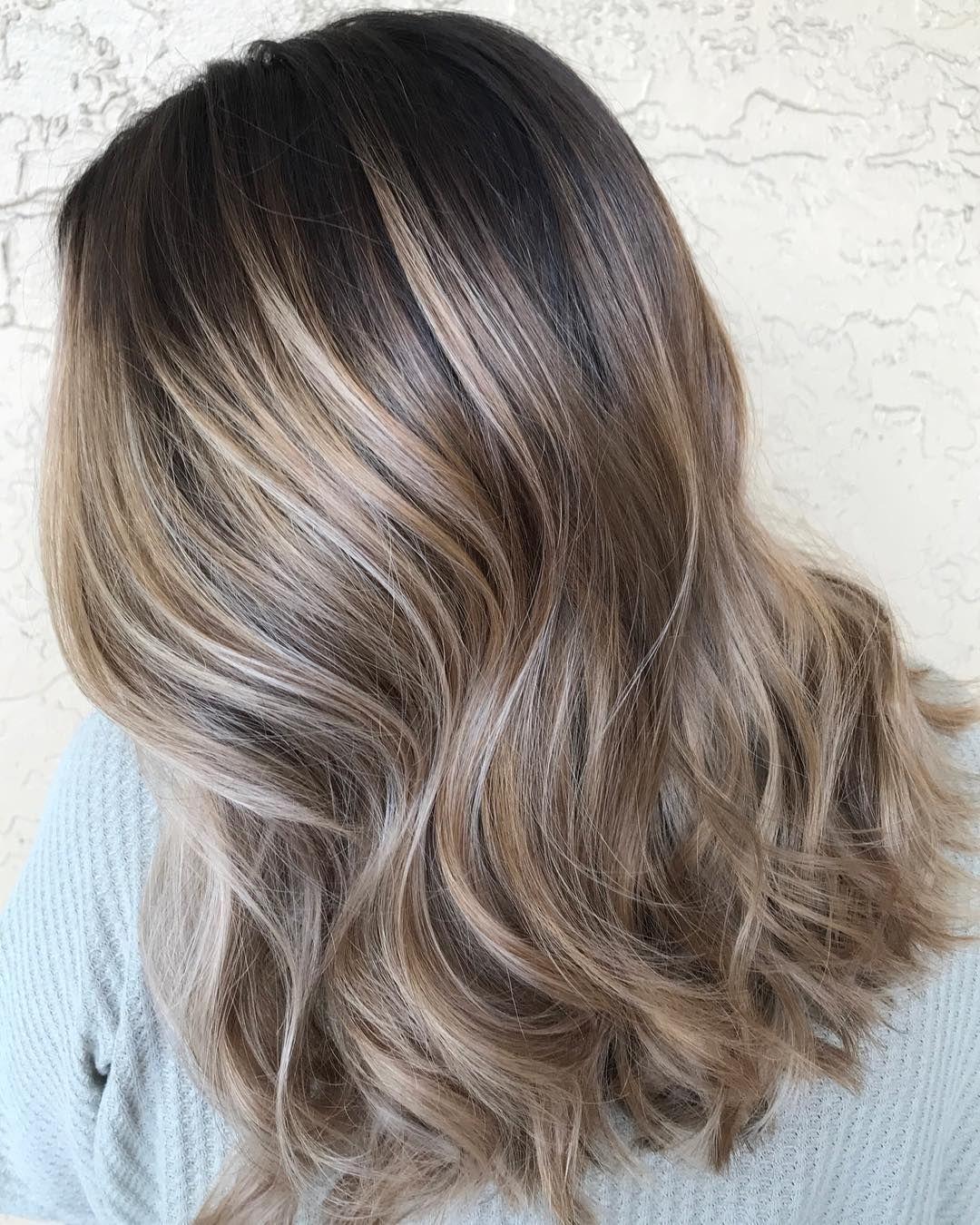 Melted Obsessed Colormelt Babylights Daviesalon Haircolorist Miamibalayage Daviebalayage B Balayage Kecantikan Rambut Ide Warna Rambut