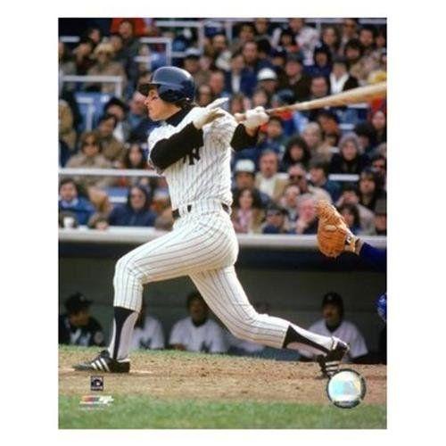Unknown Bucky Dent 1979 Batting Action Print 8 X 10 Yankees Baseball New York Yankees Yankees