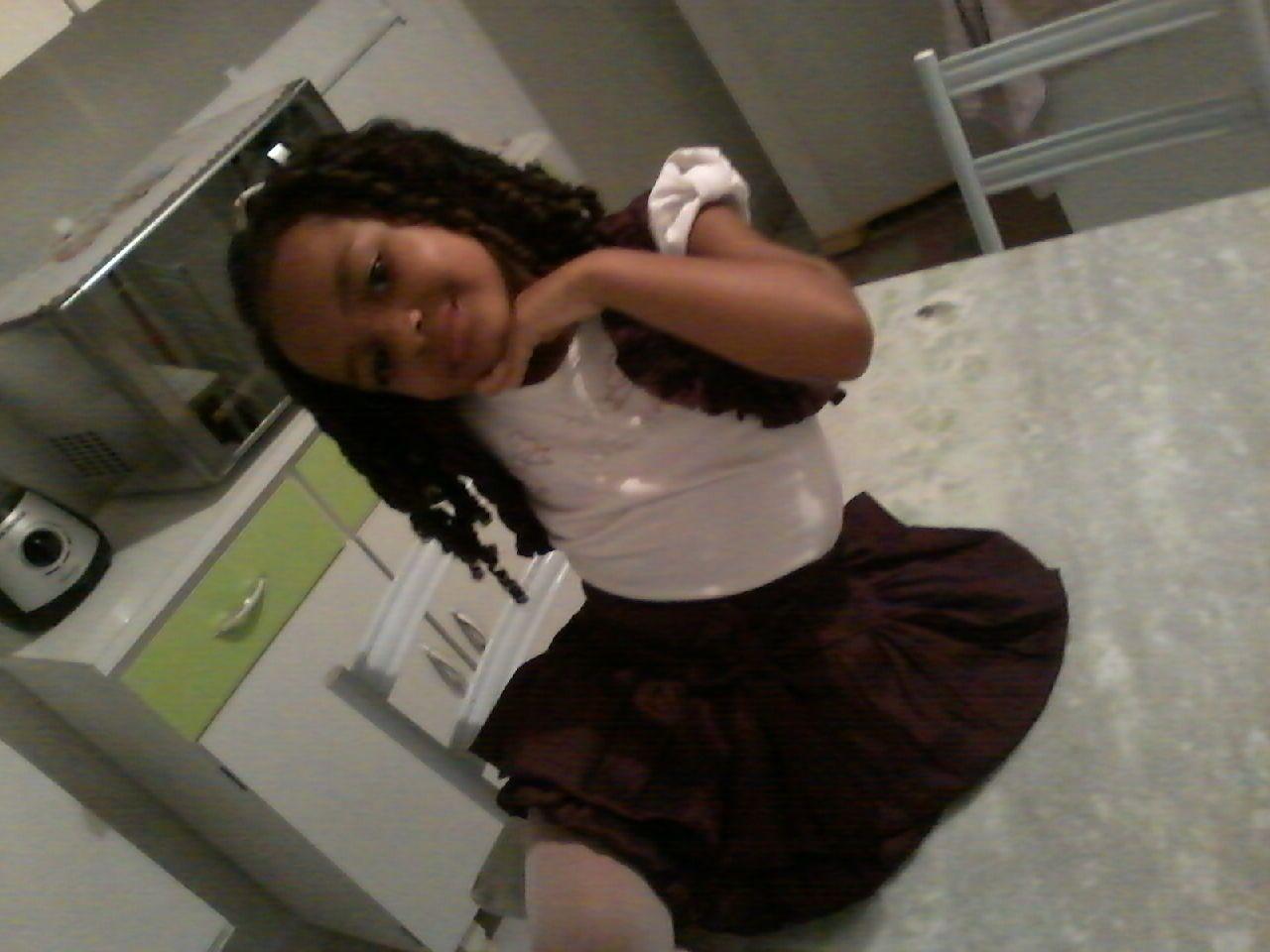 minha filha Ana flor