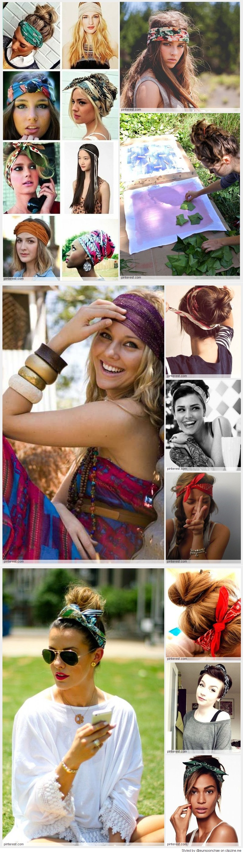 Cool ways to wear a bandana hairstyle pinterest bandanas hair
