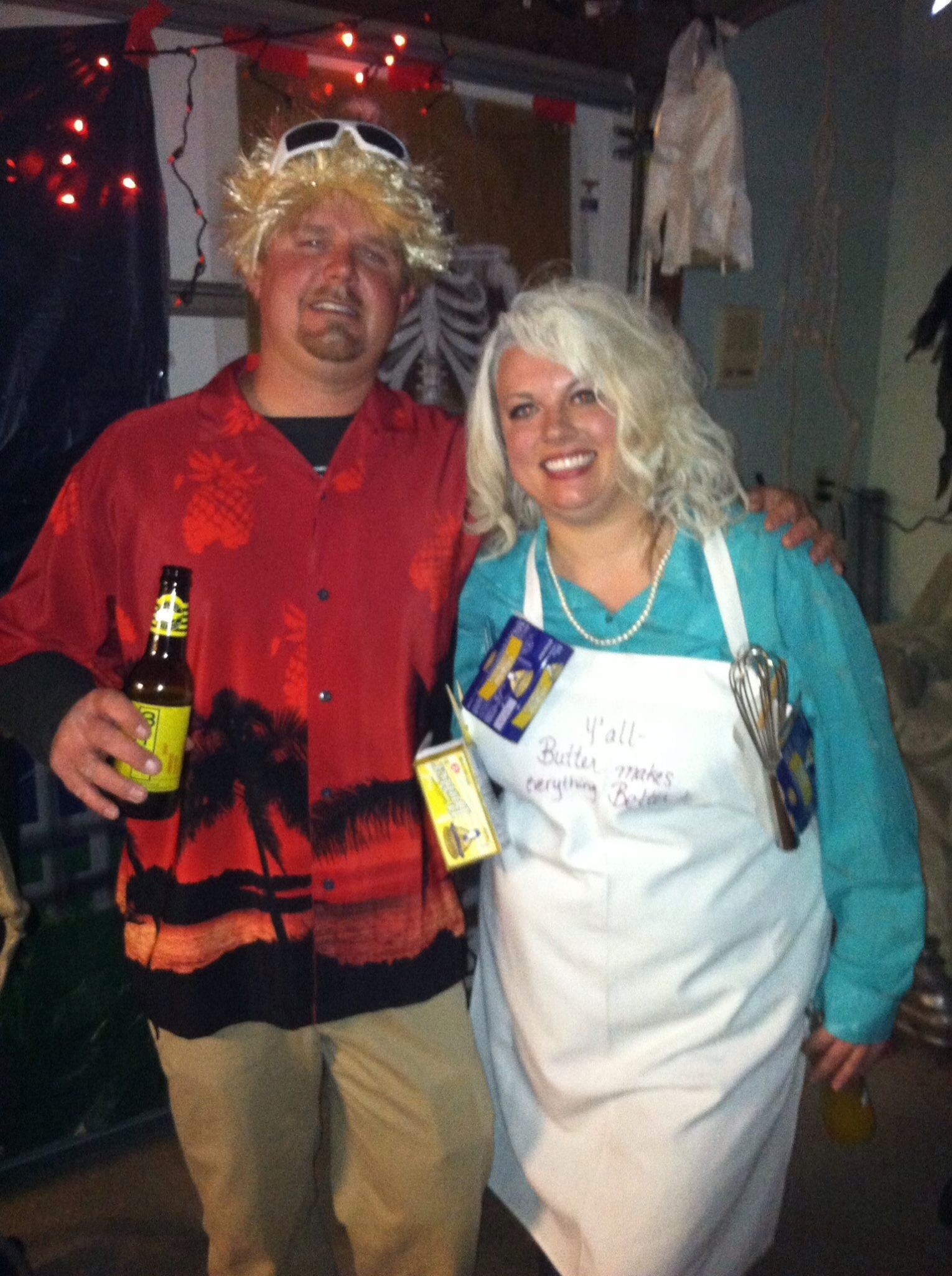 Paula Deen And Guy Fieri Couples Costume Coupleshalloweencostume