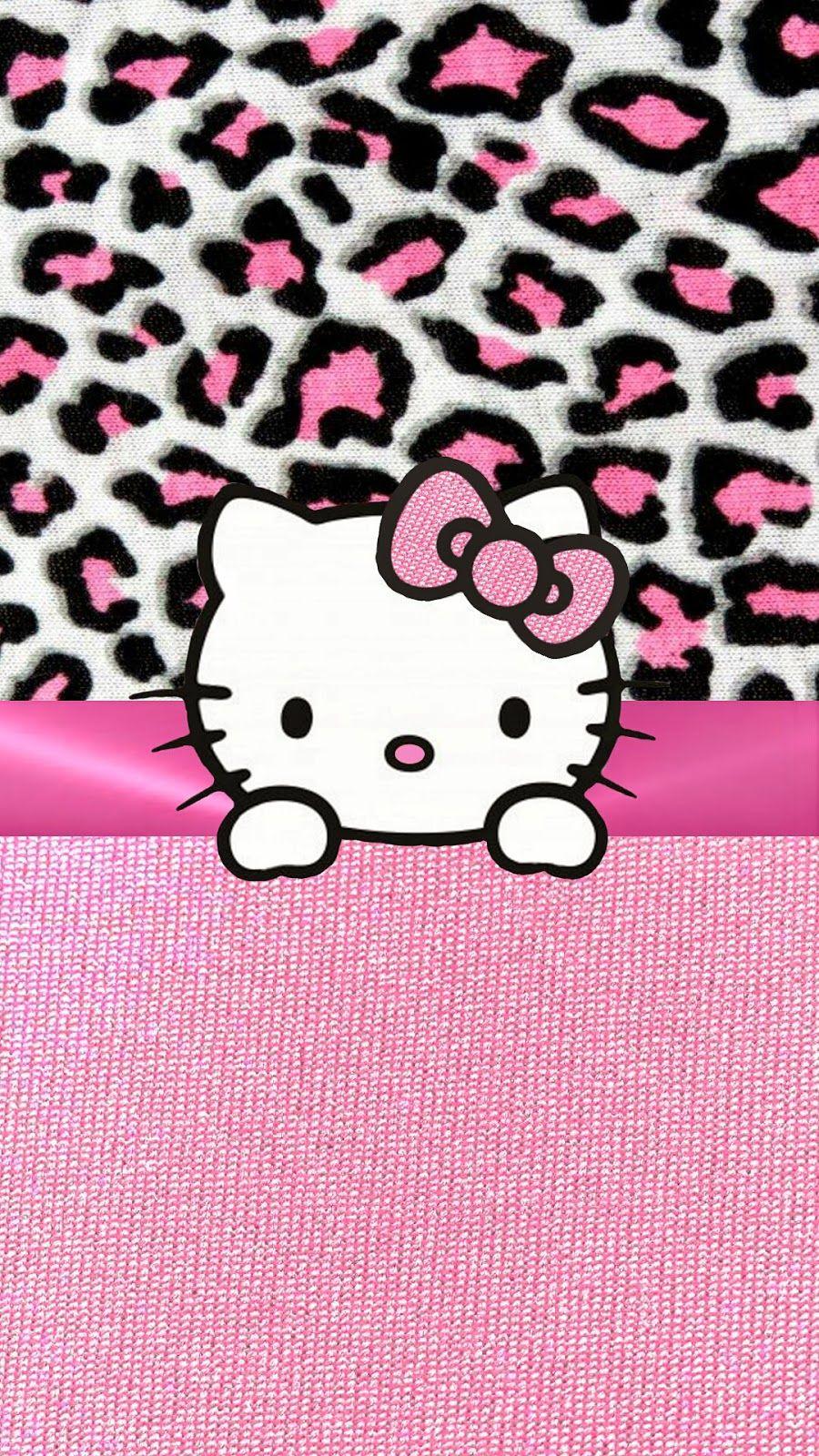 PINK HELLO KITTY IPHONE WALLPAPER BACKGROUND Hello kitty