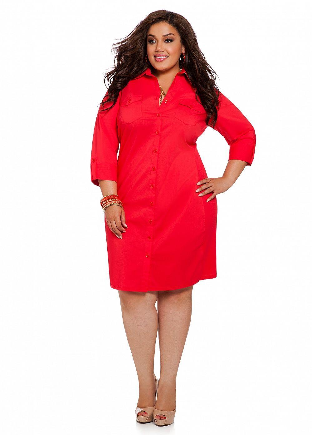 e1e0fc16ba63d Ashley Stewart Womens Plus Size Boyfriend Shirtdress Red Coat 18