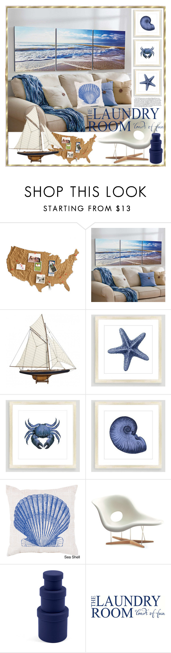 """""""The Laundry Room"""" by yours-styling-best-friend ❤ liked on Polyvore featuring interior, interiors, interior design, home, home decor, interior decorating, Improvements, Authentic Models, Cost Plus World Market and Vitra"""