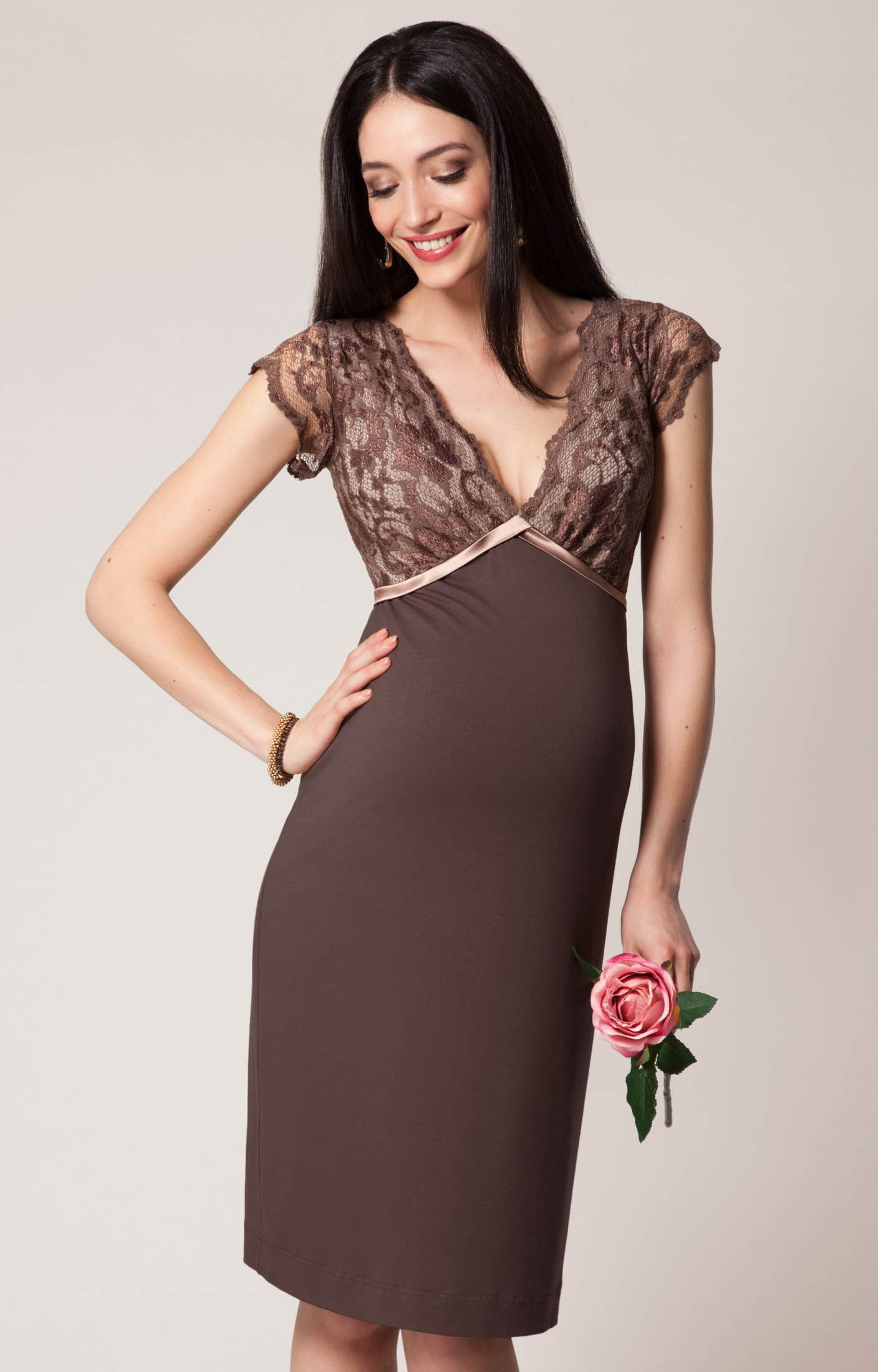 5adde8d3464b0 11. Long maternity dresses for special occasions | Plus Size ...