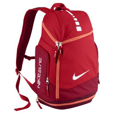 Nike Hoops Elite Max Air Team Backpack University Red Elite Backpack Nike Backpack Nike Elite Backpack
