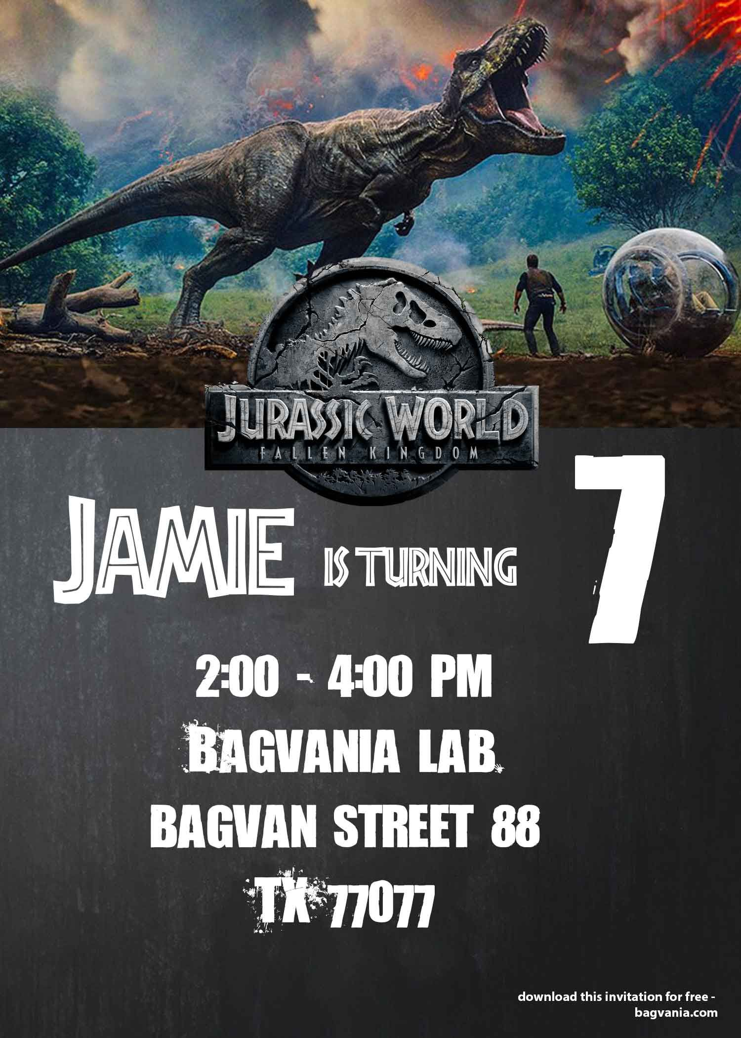 Cool Jurassic World Fallen Kingdom Birthday Party Ideas