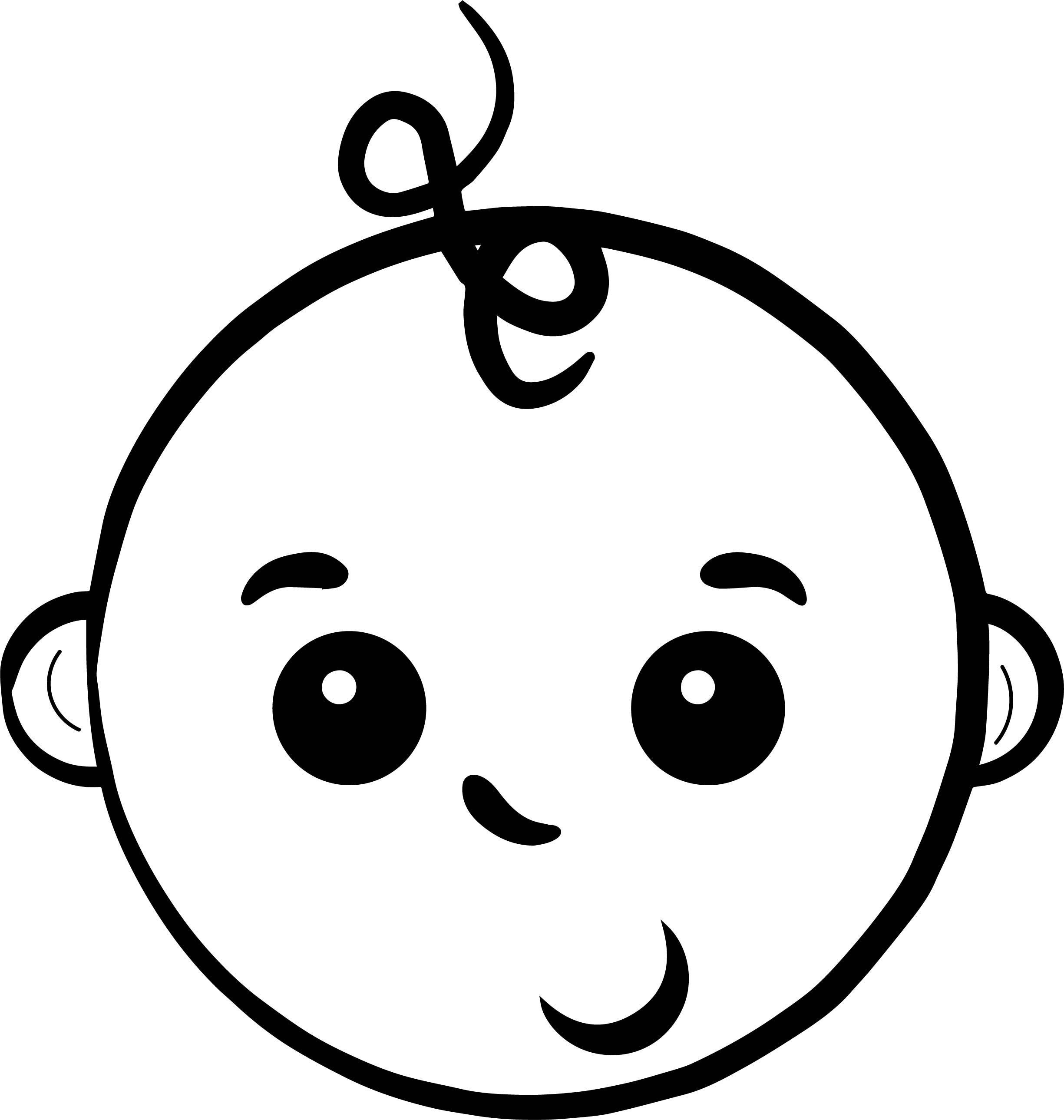 Baby Boy Face Coloring Page Coloring Pages For Boys Boy Coloring Coloring Pages For Kids