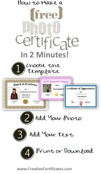 free certificate maker to create personalized printable award