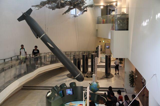 El Museo de la Bomba Atómica de Nagasaki muestra la amenaza nuclear sobre el mundo.