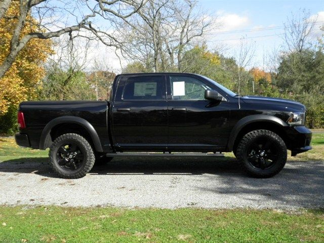 New 2014 RAM 1500 - Black Express Group with dealer added Lift, and ...