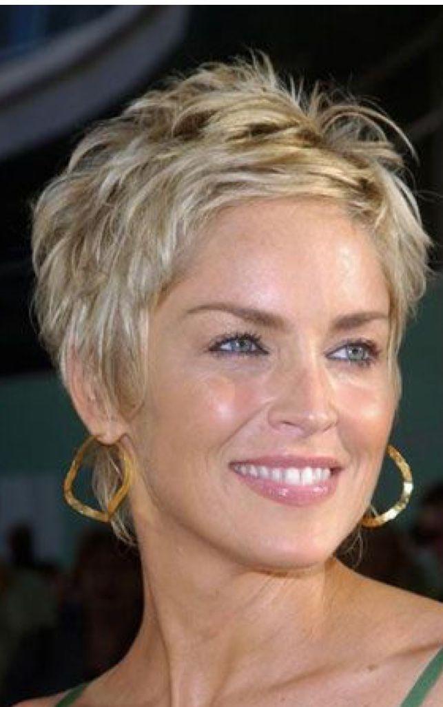 Hair Craftidea Org Sharon Stone Short Hair Short Hair Styles Short Hair Haircuts
