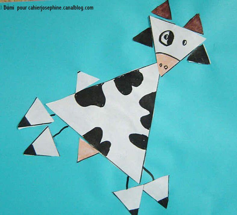 vache triangles