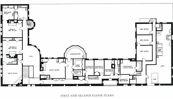 Chi: Architectural Plans Of The Glessner House In Chicago
