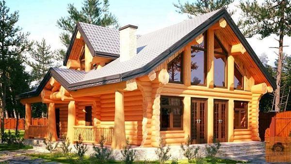 Casa Din Lemn Rotund Tiny House Cabin Log Cabin Homes Barn House