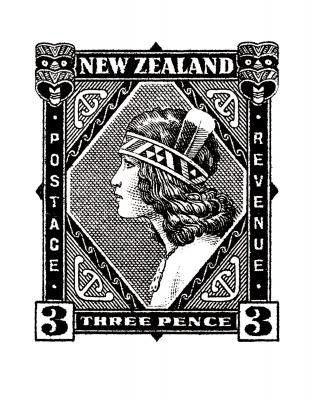 Historical nz stamp print wahine for sale new zealand art prints