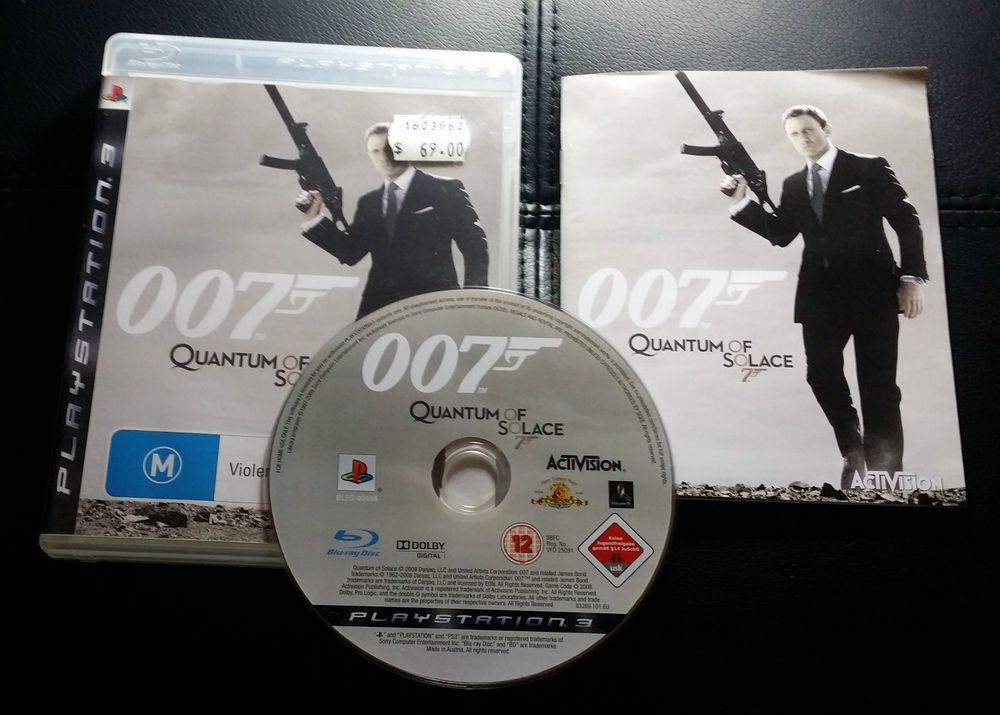 007 Quantum Of Solace Sony Playstation 3 Ps3 Free Postage