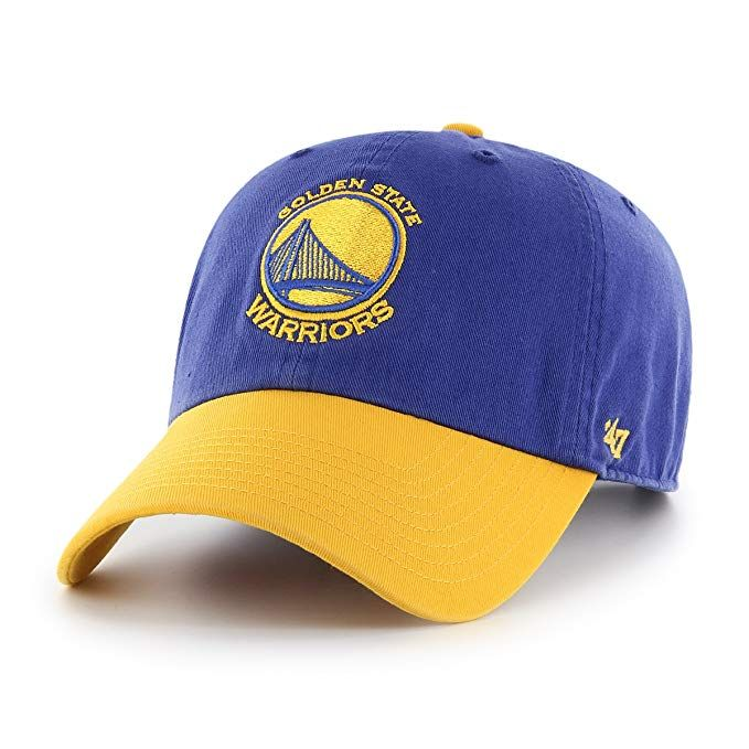 943e093619440 47 Brand Clean Up Golden State Warriors Men s Snapback in Royal and Yellow