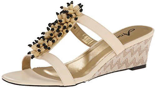 Annie Shoes Womens Ardent Sandal Beige 7 W US *** Want additional info? Click on the image.(This is an Amazon affiliate link and I receive a commission for the sales)