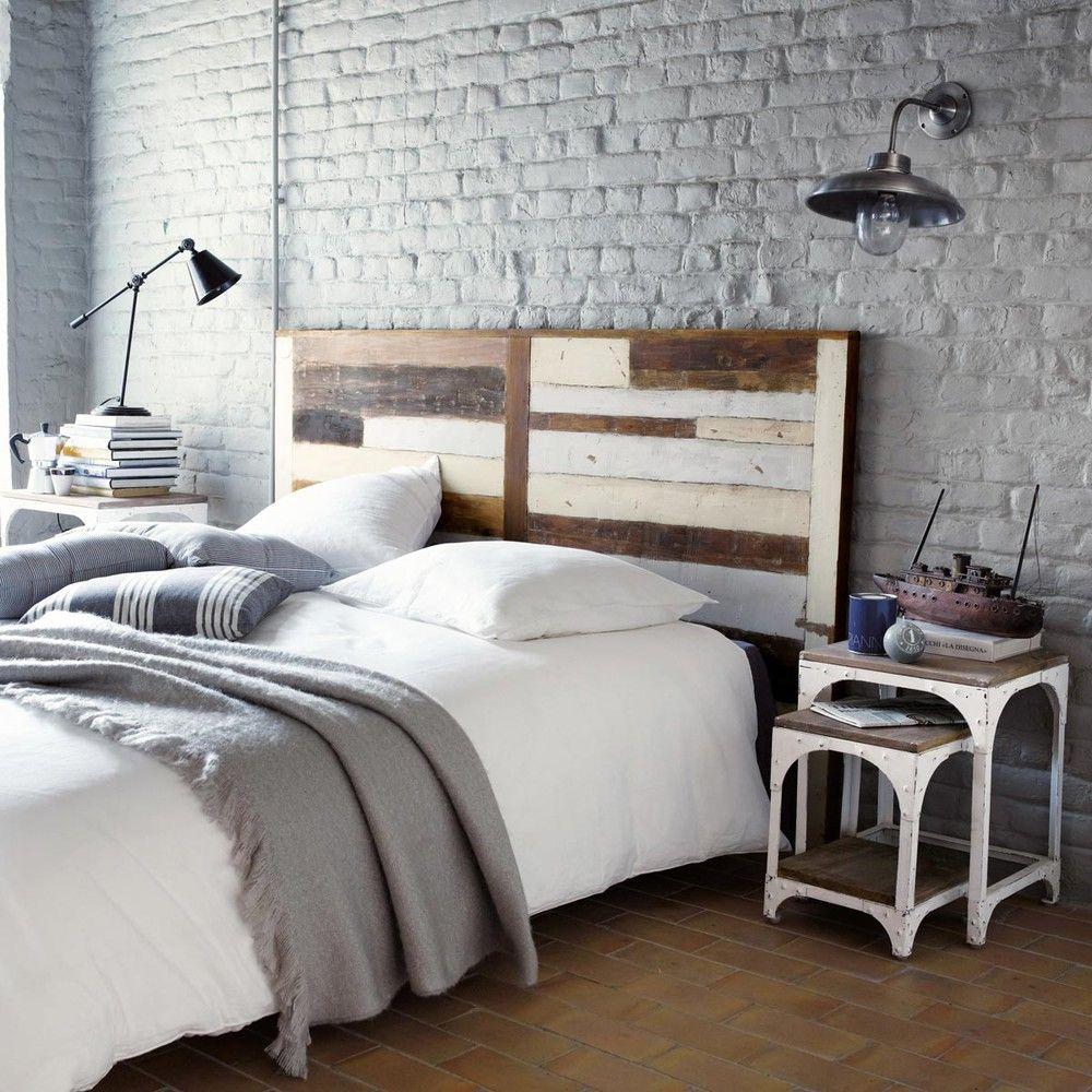 Testata da letto in legno riciclato L 160 cm | Bedrooms