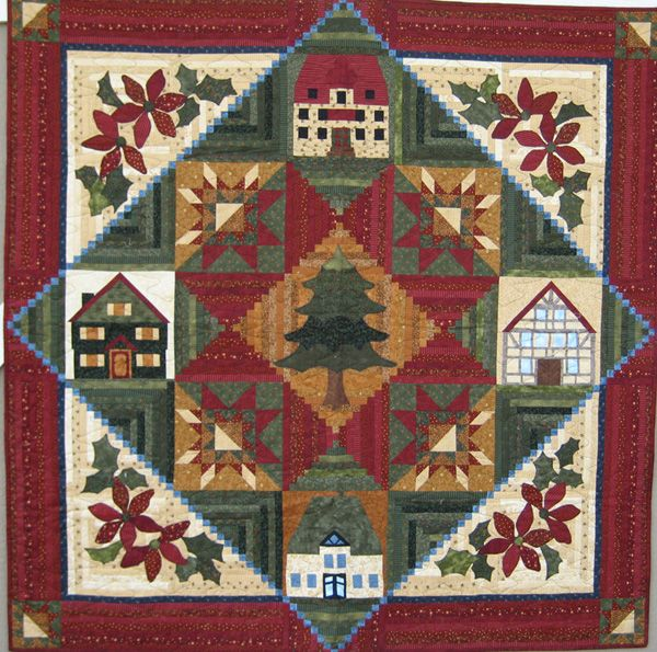 O Tannenbaum Block Of The Month Christmas And Winter Quilts