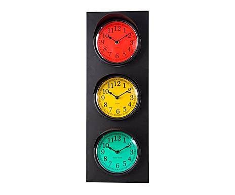 OUTLET DE PIEZAS PRÁCTICAS: Reloj de pared semáforo
