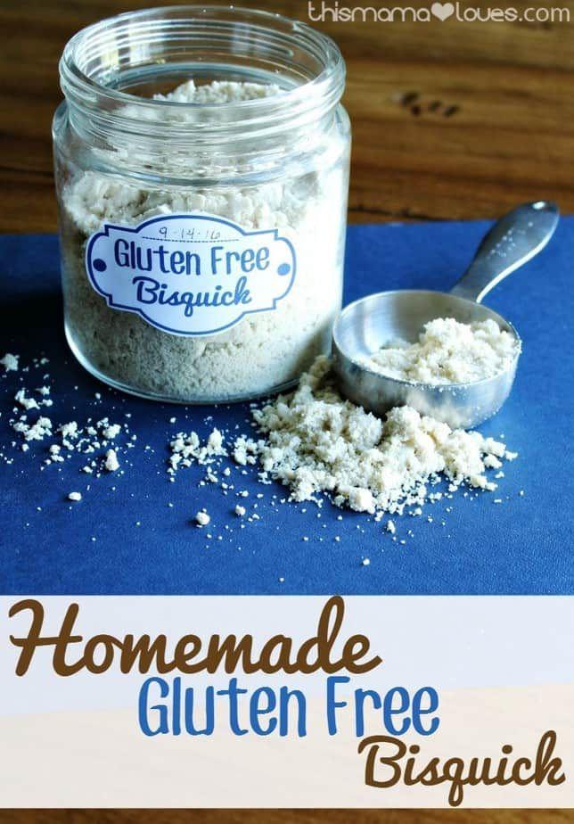 Homemade Gluten Free Bisquick Recipe Homemade Gluten Free