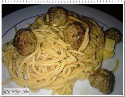 Bologneser Spaggettisalat