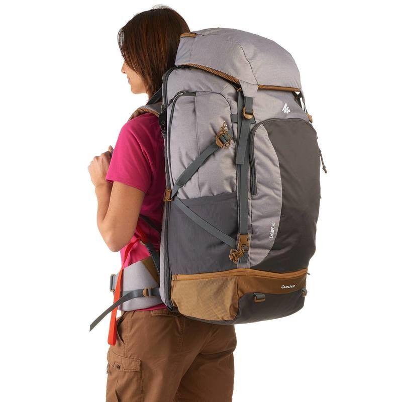 Luxus kaufen weltweit verkauft verkauf usa online 35 - Hiking - Travel 500 70L Women's Rucksack - Grey | wish ...