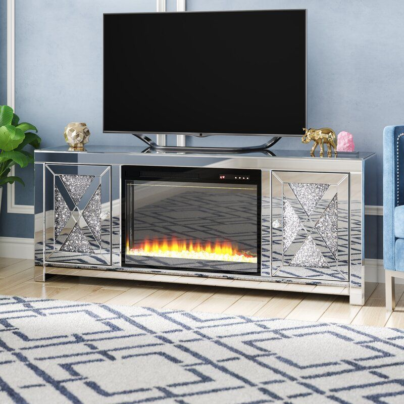 Aaron Tv Stand For Tvs Up To 65 With Fireplace Included Fireplace Tv Stand Fireplace Tv Tv Stand 65 inch tv stand with electric fireplace