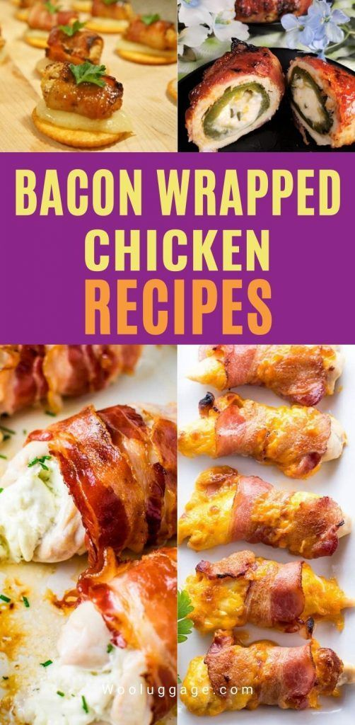 Bacon-Wrapped Chicken Recipes - 21 Best Bacon-Wrapped Chicken Ideas Bacon Wrapped Chicken is delici