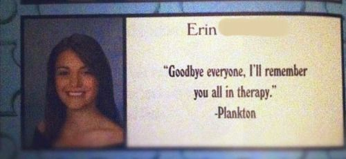 Therapy Funny Yearbook Quotes Yearbook Quotes Funny Yearbook