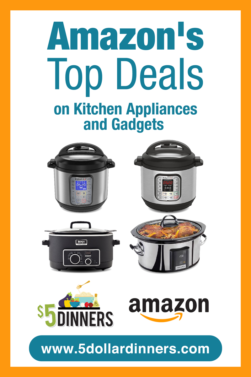 Amazon Deals on Small Kitchen Appliances & Gadgets Small