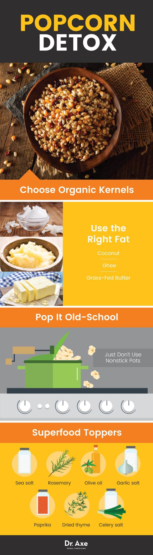 Popcorn detox - Dr. Axe http://www.draxe.com #health #holistic #natural