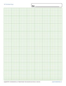 Printable Graph Paper 1 8 Inch Grid Free Blank Template In 2020 Printable Graph Paper Graph Paper Graphing