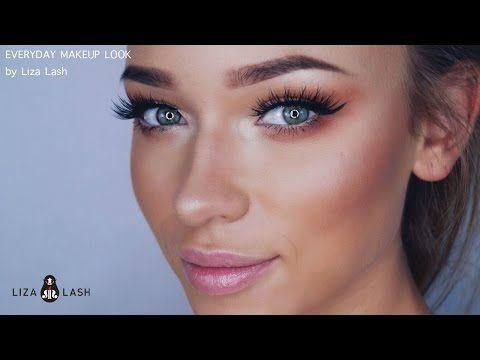 everyday makeup tutorialliza lash  youtube  everyday