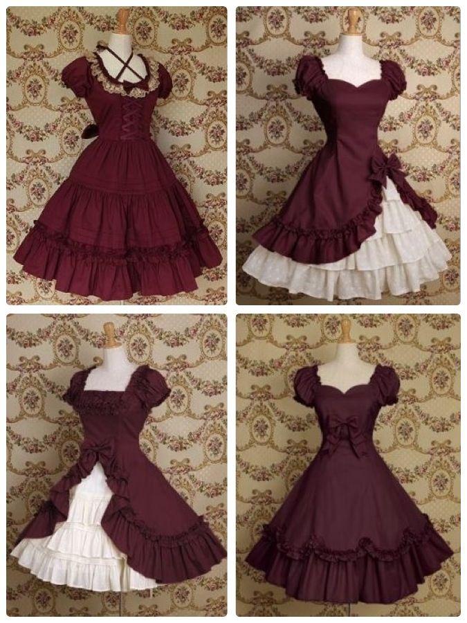 Cute Victorian Dresses