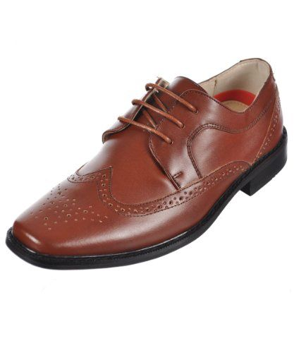 "Goodfellas Boys ""Brogue Wingtip"" Dress Shoes Reviews   $ 36.00  #Boys, #Brogue, #Dress, #Goodfellas, #Reviews, #SHOES, #Wingtip"