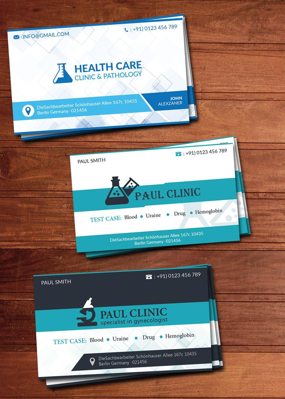 Free Laboratory Business Card PSD Templates Business Card - Sample of business card template