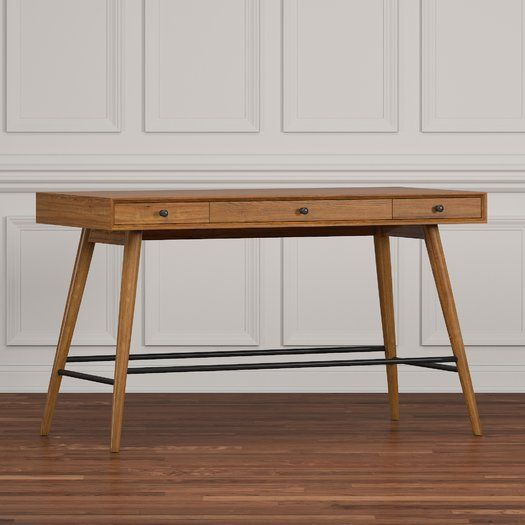231 Mercury Row Andresen Writing Desk Desk Small Wood Desk Modern Desk