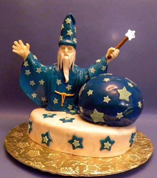 Wizard Birthday Cake Cake Recipe