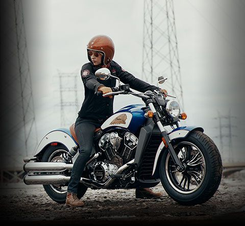 2017 Indian Scout Motorcycle Thunder Black