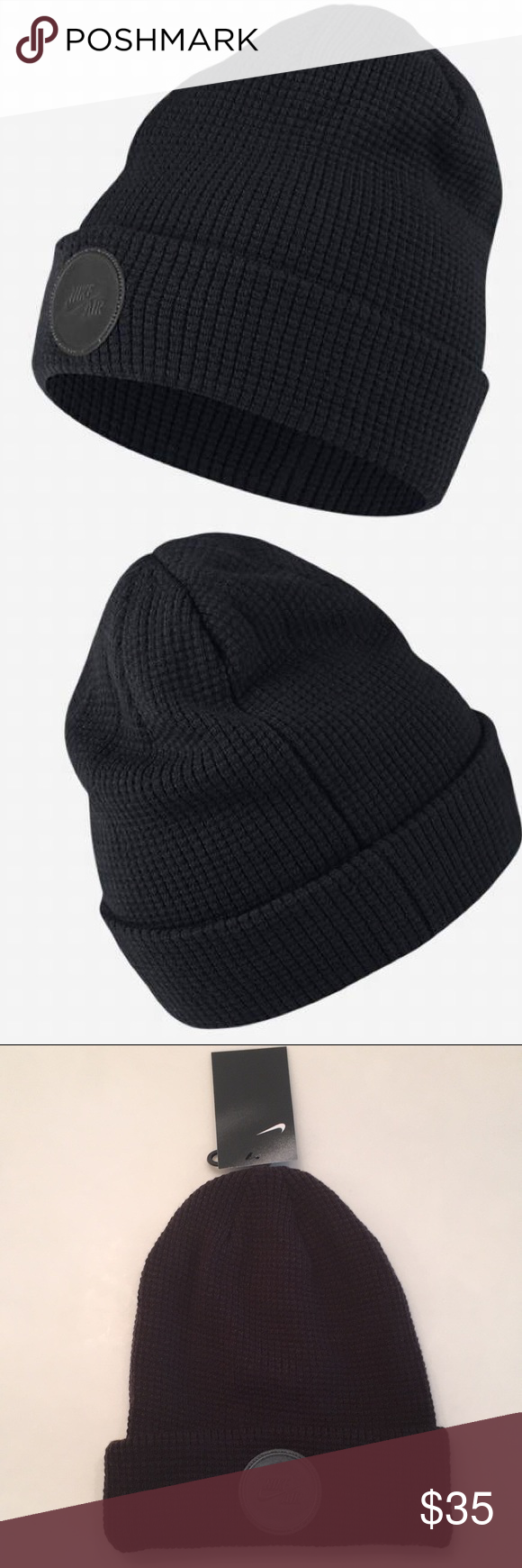 wholesale dealer 30a57 07b76 Black Nikes · Nike Air Surplus Beanie Hat Made with an ultra soft fabric to  not only keep you
