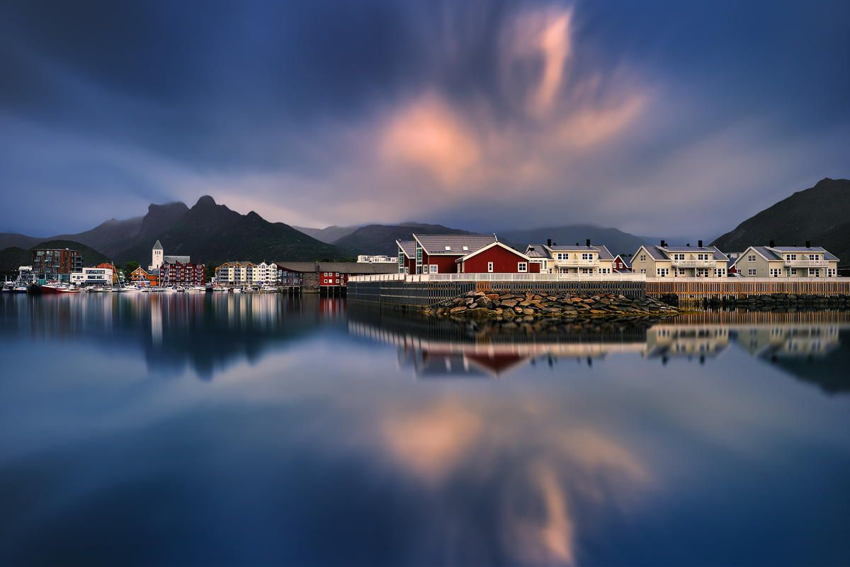 Summer Aurora... Norway, Lofoten, Austvågøya, Svolvær July 2013 by Pawel Kucharski on 500px.