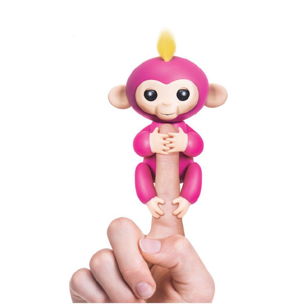 Lustigen Affen Finger Baby Affe Rose Interaktive Baby Haustier