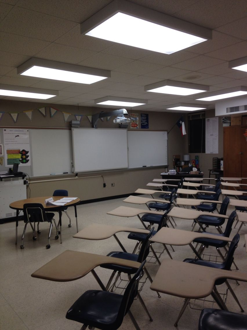 My First Classroom Spring Woods High School Houston TX